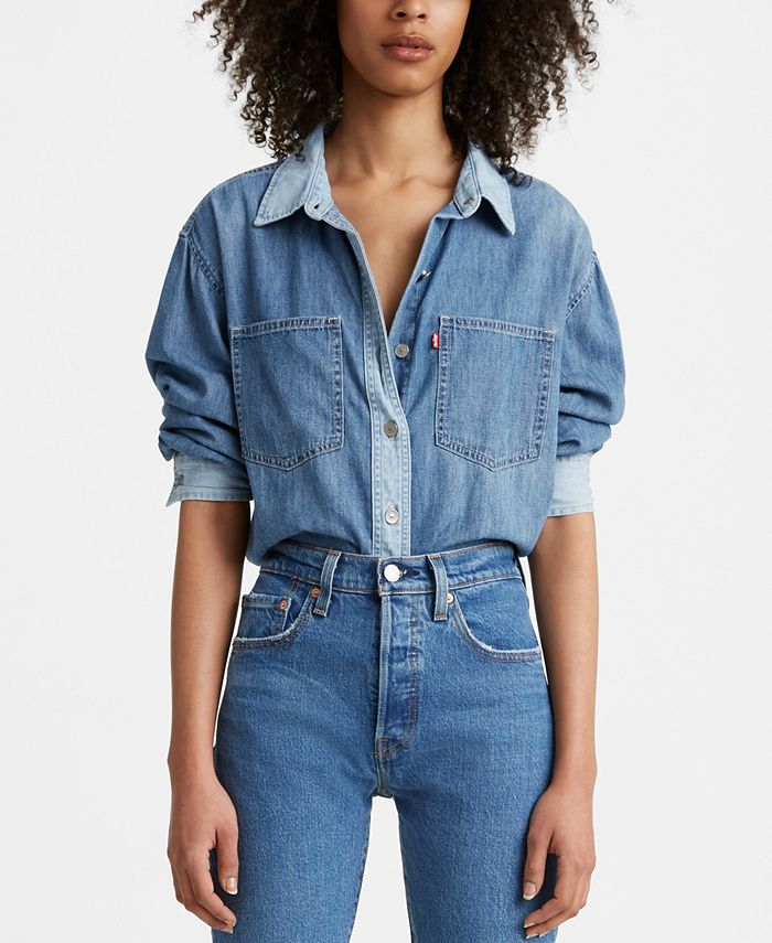 Levi's - Maple Cotton Denim Utility Shirt