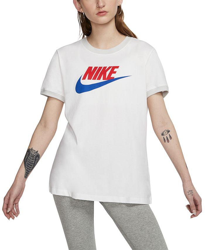 Nike - Sportswear Futura Cotton Ringer T-Shirt