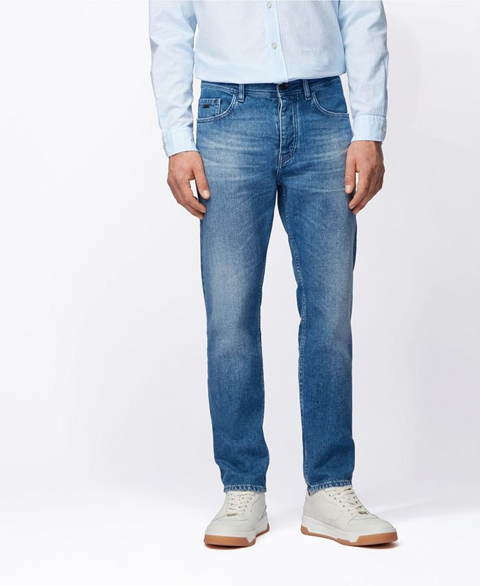 Hugo Boss - Men's Taber BC Tapered-Fit Jeans