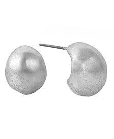 The Sak Button Earrings