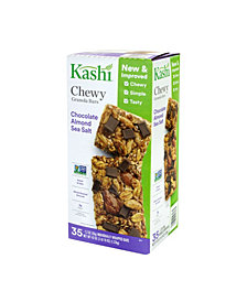 Kashi Chocolate Almond Sea Salt with Chia Granola Bars, 35 Count