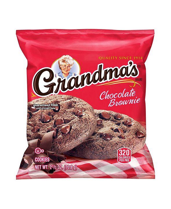 Grandma's Big Chocolate Brownie, 2.5 oz, 60 Count