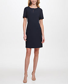 Tommy Hilfiger Keyhole Shift Dress