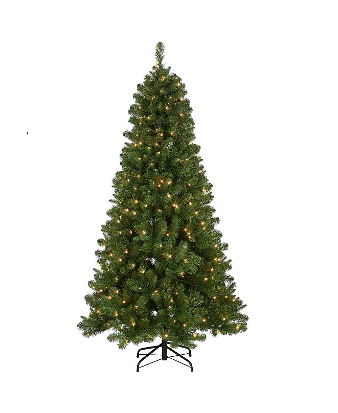National Tree Company 6.5 ft. Mixed Pine Tree with Clear Lights