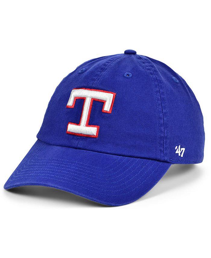 '47 Brand - Texas Rangers Cooperstown Clean Up Cap