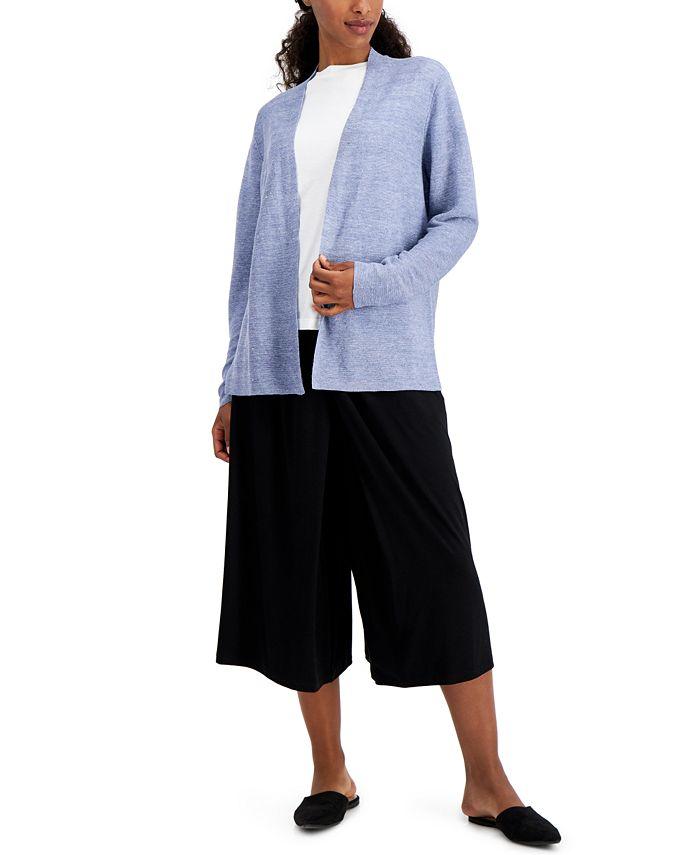 Eileen Fisher - Plus Size Organic Linen Cardigan