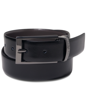 Hugo Elvio Leather Reversible Men's Belt