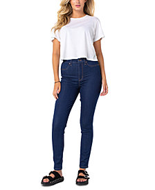 Celebrity Pink Juniors' Curvy High Rise Skinny Jeans