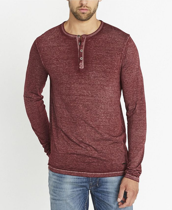 Buffalo David Bitton - Men's Kaduk Solid Henley