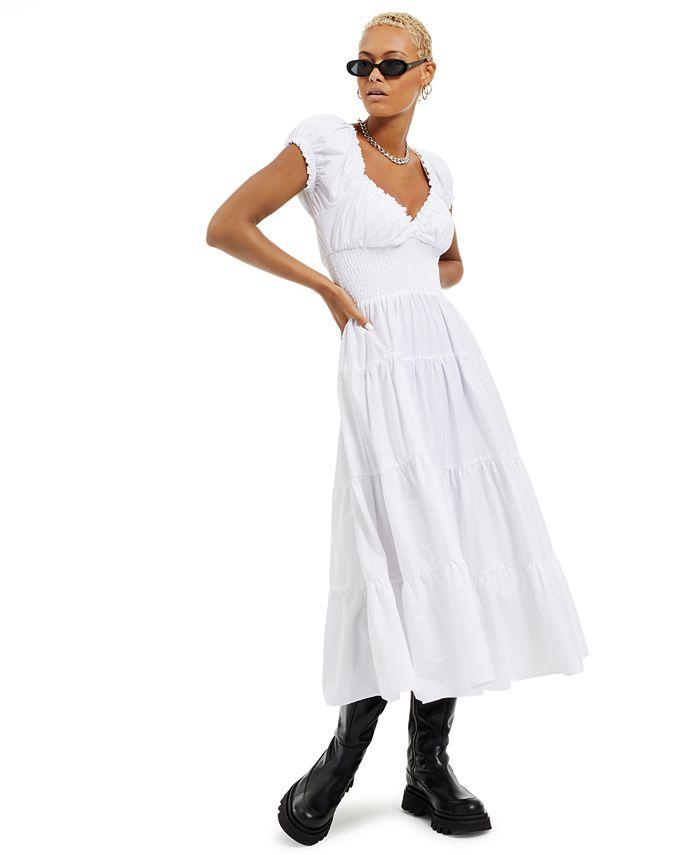 Danielle Bernstein - Solid Poplin Midi Dress, Created for Macy's