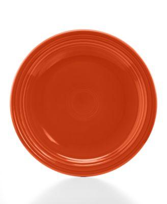 "Fiesta Paprika 10.5"" Dinner Plate"