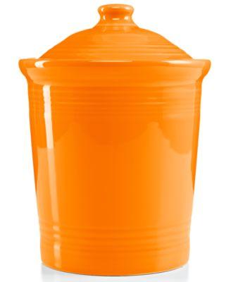 Fiesta Tangerine Medium Canister