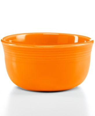 Fiesta Tangerine 28-oz. Gusto Bowl