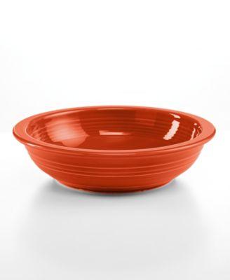 Fiesta Paprika Individual Pasta Bowl