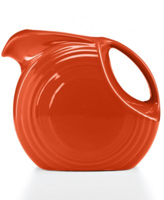 Fiesta Paprika 67.75-oz. Large Disk Pitcher