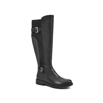 White Mountain Meditate Wide Calf Tall Shaft Boots