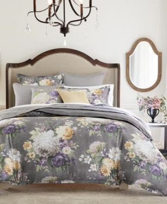 Classic Grand Bouquet King Bed Skirt, Created for Macy's