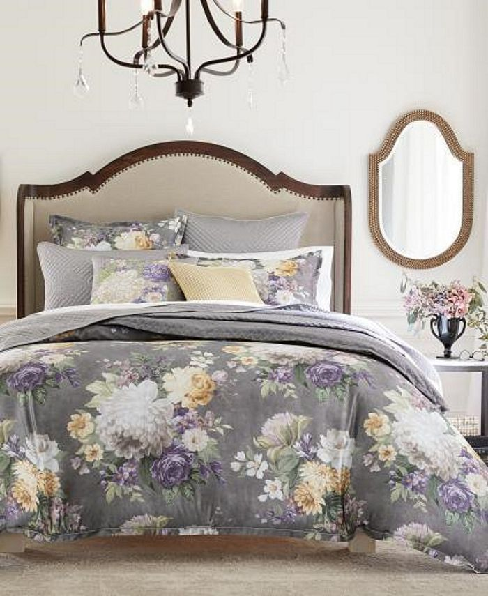 Hotel Collection - Classic Grand Bouquet Bedding Collection, Created for Macy's