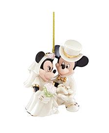 Lenox Minnie's Dream Wedding Ornament