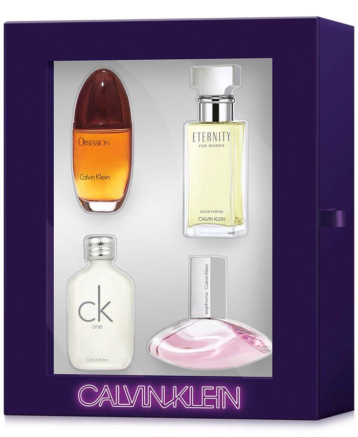 Calvin Klein - 4-Pc. Women's Fragrances Gift Set