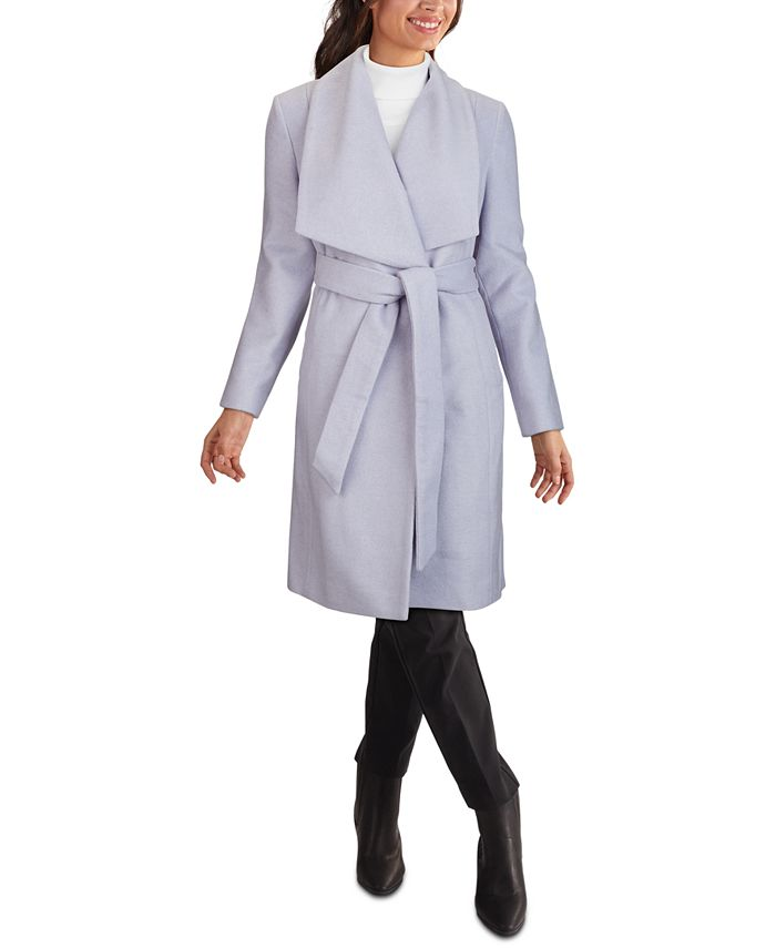 Cole Haan - Belted Wrap Coat