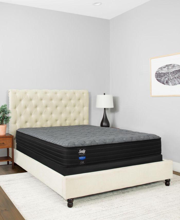 "Sealy Premium Posturepedic Chestnut St 12.5"" Cushion Firm Mattress- King & Reviews - Mattresses - Macy's"