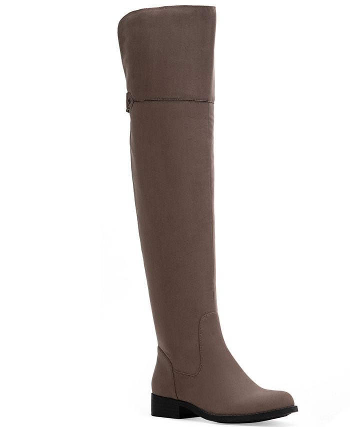 Sun + Stone - Allicce Wide-Calf Over-The-Knee Boots