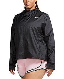 Nike Plus Size Hooded Running Jacket