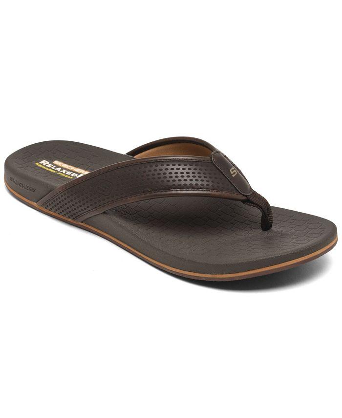 Skechers - Men's Pelem Emiro Thong Sandals from Finish Line