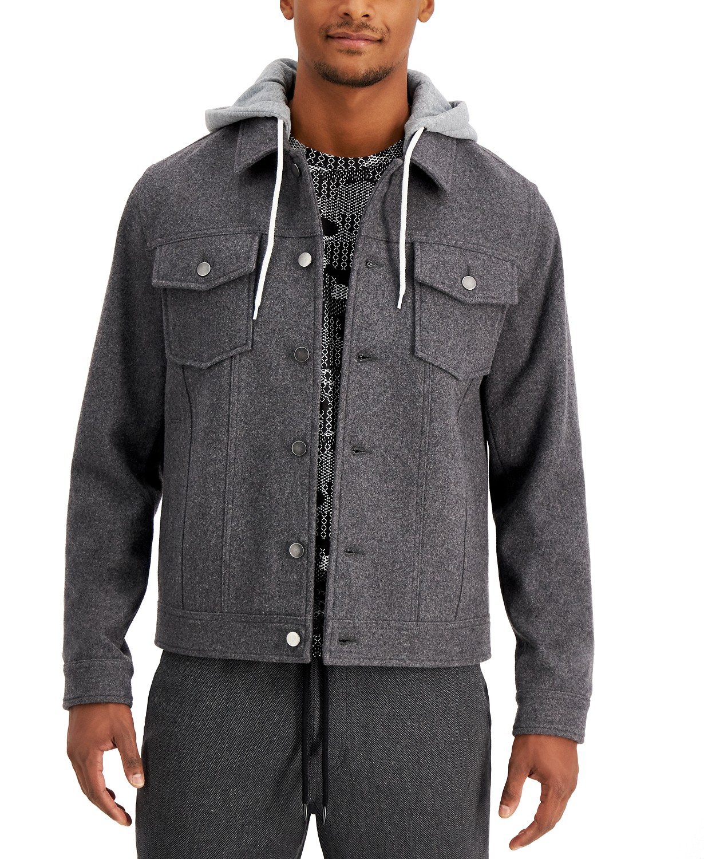 Macy's: Men's Richter Hooded Trucker Jacket $29.96 (75% off)