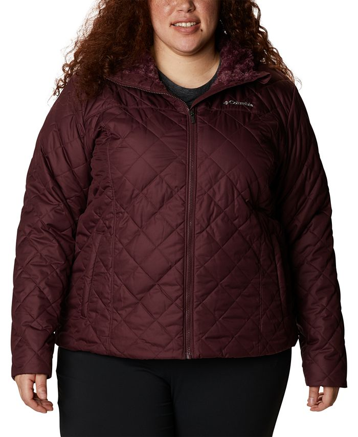 Columbia - Plus Size Copper Crest Hooded Quilted Jacket