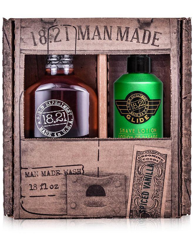 18.21 Man Made 2-Pc. Wash & Glide Gift Set