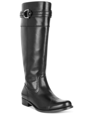 Tommy Hilfiger Halette Tall Shaft Boots Womens Shoes