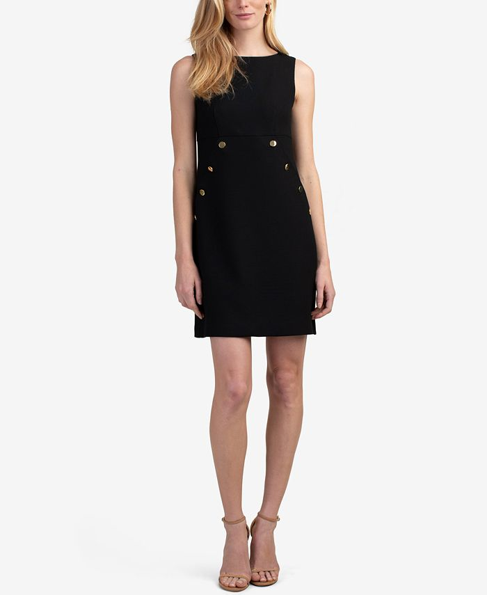 Trina Turk - Heart Felt Button Detail Dress