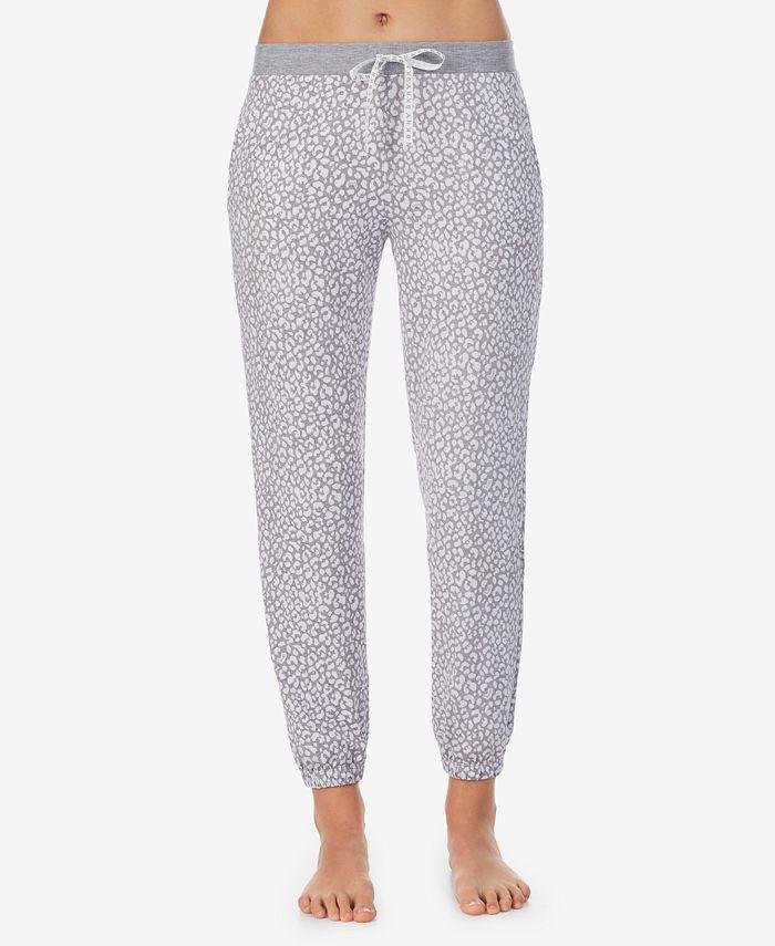DKNY - Leopard-Print Sleep Jogger Pants