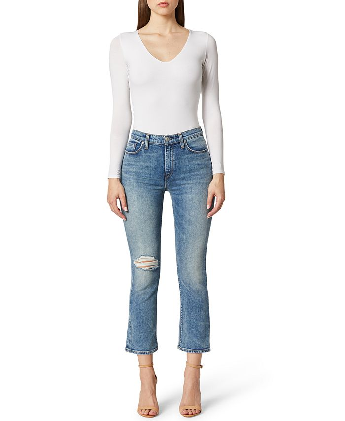 Hudson Jeans - Holly Cropped Bootcut Jeans