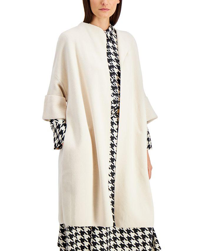 Alfani - Shawl-Collar Short-Sleeve Cardigan