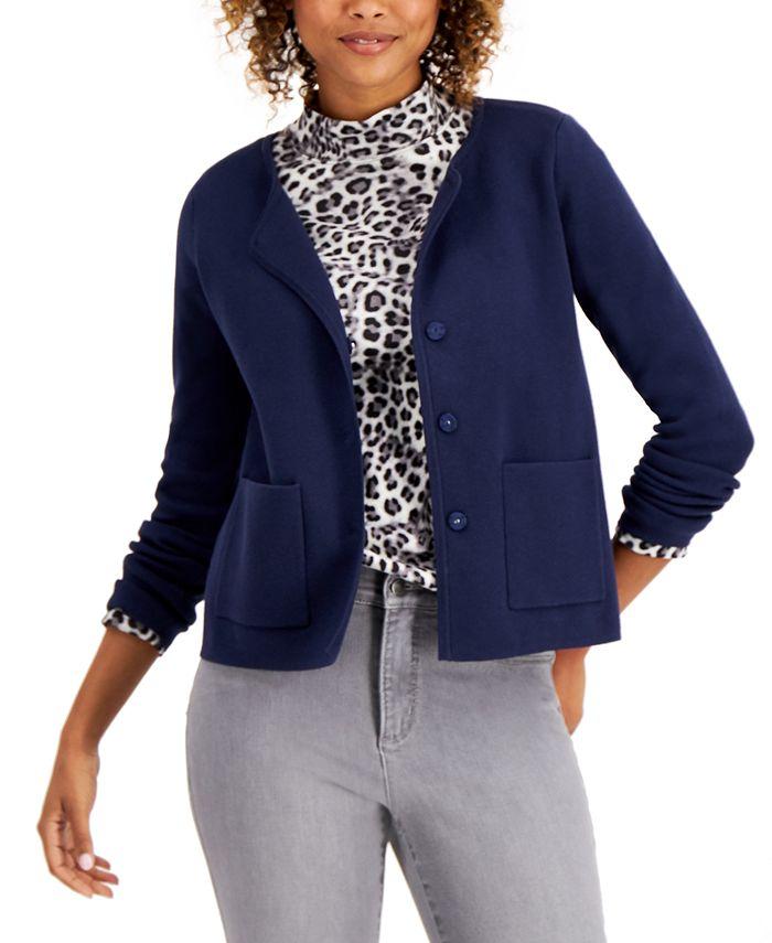 Charter Club - Sweater Jacket