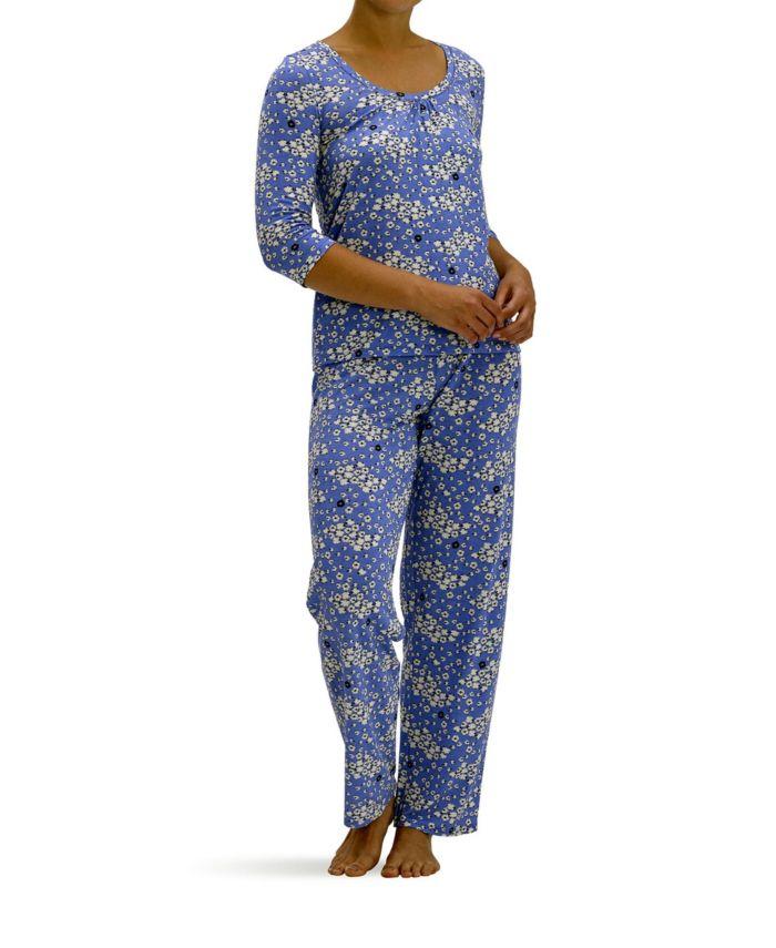 Hue Women's Cloudy Sheep 2pc Pajama Set & Reviews - Bras, Panties & Lingerie - Women - Macy's
