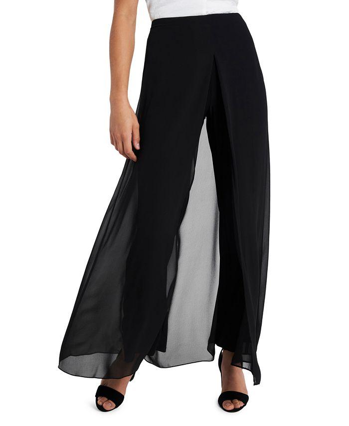 MSK - Chiffon Overlay Pants