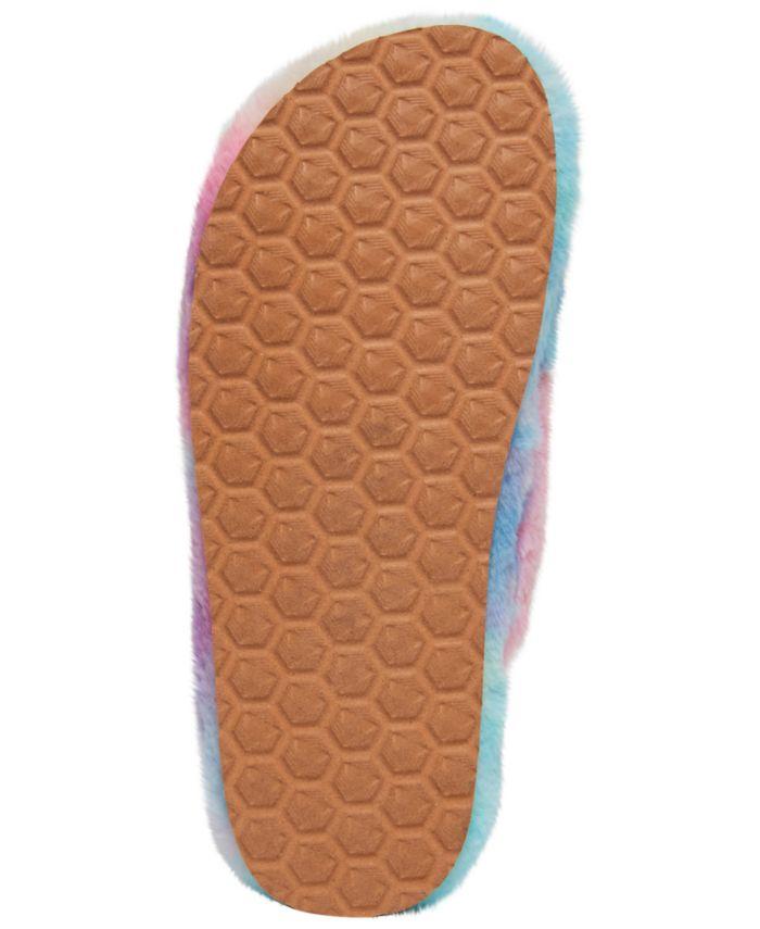 Steve Madden Women's Fuzed Cross-Band Slippers & Reviews - Slippers - Shoes - Macy's