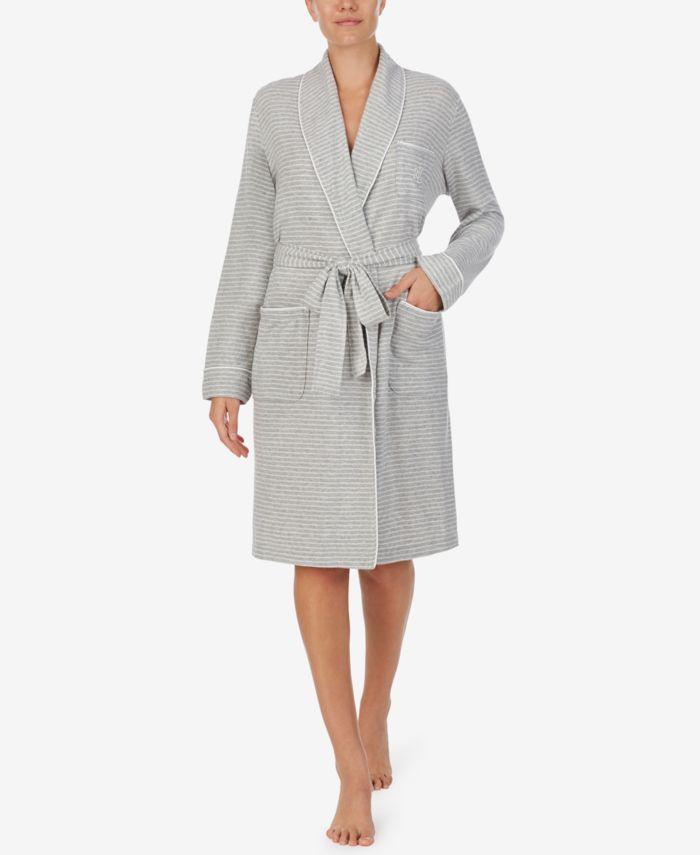 Lauren Ralph Lauren Sweater Knit Short Robe & Reviews - Bras, Panties & Lingerie - Women - Macy's