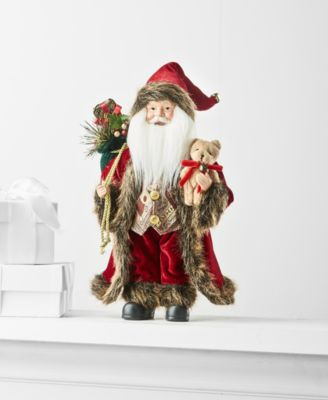 "12""H Standing Santa, Created for Macy's"