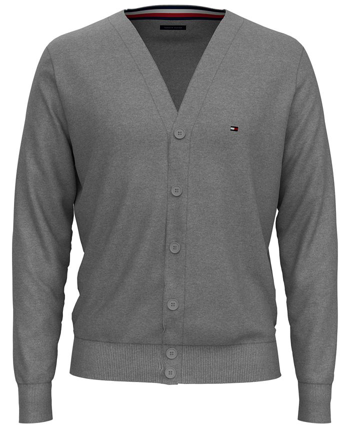 Tommy Hilfiger - Men's Signature Cardigan Sweater