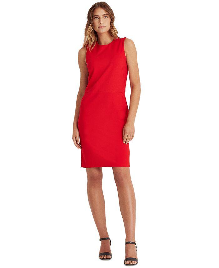 Lauren Ralph Lauren - Slim-Fit Ponte Dress