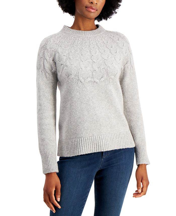 Charter Club - Cable-Knit Sweater