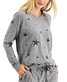 Style & Co Printed Hooded Top, Created for Macy's