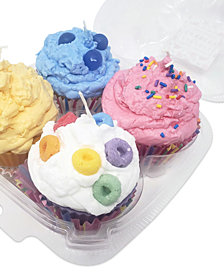 Candlelit Desserts Set of 4 Cupcake Candles 5 o.z