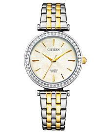 Citizen Women's Two-Tone Stainless Steel Bracelet Watch 24mm