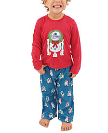 Matching Toddler R2-D2 Holiday Wreath Family Pajama Set